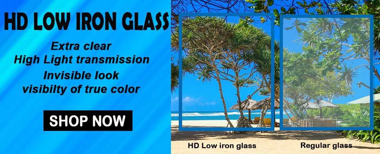 HD Low Iron Glass